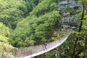 Marano di Valpollicella-Ponte Tibetano