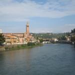 Verona-Ponte pietra dall'occhio del fotografo