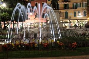 Verona La fontana di  Piazza Bra