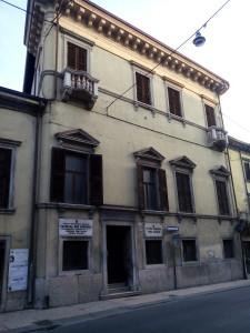 VERONA - Palazzo Bom Brenzoni Via XX Settembre 1