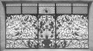 Il cancello dal libro di Nicoletta Vian