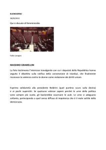 Femminicidio - Di massimo Gramellini