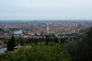 Verona -Panorama da Forte San Leonardo