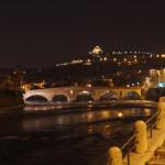 Verona-Ponte Pietra e il Santuario Madonna di Lourdes
