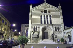 Verona facciata San Fermo