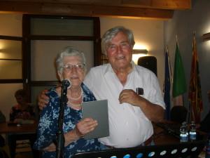 Elsa Benedetti Capaldi con Bruno Castelletti