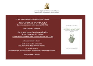 Antonio M. Roveggio